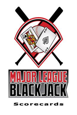 Major League Blackjack Scorecards